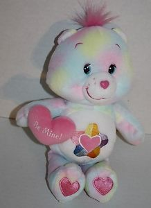 Care Bears True Heart 2005 pastel plush Be Mine stuffed animal Valentine EXC Care Bears Plush, Stationary Supplies, 3d Mesh, 80s Stuff, Starbucks Mugs, Gardening Gloves, Cabbage Patch, Security Blanket, Teddy Bears