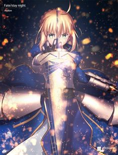 Imagen de saber and fate stay night