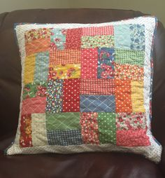 A personal favorite from my Etsy shop https://www.etsy.com/listing/386710694/handmade-bread-and-butter-quilted-pillow