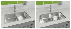 Sink render / product comparison Product 3D model + render for PW Cabinetry