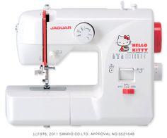 Hello Kitty + Jaguar - compact machine ハローキティ コンパクトミシン