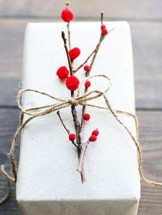 DIY Christmas packaging | ELLE