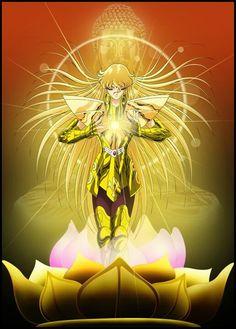 Belíssima imagem do Shaka de Virgem