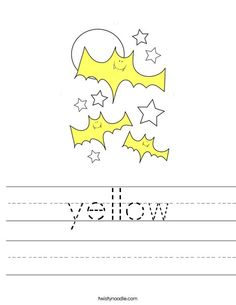 green Worksheet - Twisty Noodle   Halloween Coloring Pages ...