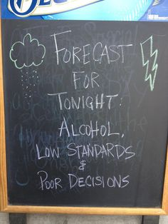 forecast for tonight #humor #weather