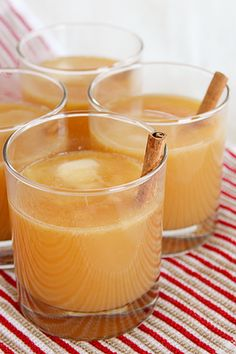 pro tip: make things more awesome by adding butter. case in point: hot buttered cider \\