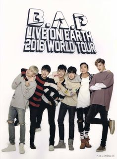 B.A.P Live On Earth 2016 ~ attended the 4/21 Dallas show.