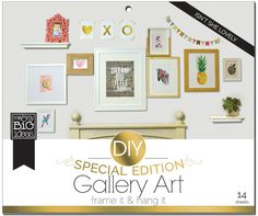 Isn't She Lovely DIY Gallery Art Pad | me & my BIG ideas