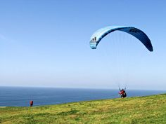 Seeking an adrenaline rush? Head out to the our very own paragliding hub. Gliderport is right by Torrey Pines.