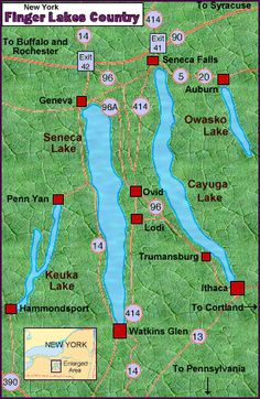 Finger Lakes Region, Finger Lakes Wine Country, Long Island Wineries, New York Visitors Guide