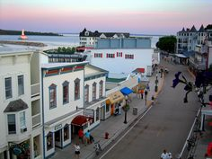 Downtown Mackinac Island, MI
