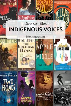Twelve middle grade and young adult titles written by Indigenous Voices in a vareity of genres, formats, styles, and forms. Book Club Books, Book Lists, Good Books, Book Suggestions, Book Recommendations, Books To Buy, Books To Read, Teaching Secondary, Feminist Books