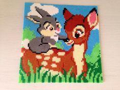 Bambi and  Thumper hama perler beads by Sasha Nielsen