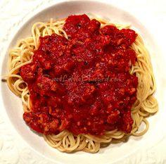 Jo Mama's Famous Spaghetti Sauce
