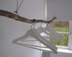 Shop interior: Cool way to hang clothes,  Go To www.likegossip.com to get more Gossip News!