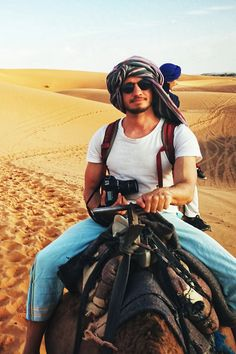 The desert tour was by far the highlight of our trip to Morocco. If you are planning a trip to Morocco, the Merzouga Desert tour is definitely recommended. Desert Tour, Aladdin, Morocco, Camel, Deserts, Hipster, Tours, Explore, Desserts