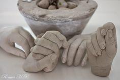 i hverdagen, og andre dage: Gips - beton hånd GALLERI