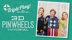 Triple Play: New Wonky Star Projects with Jenny, Natalie & Misty of Missouri Star (Video Tutorial) Jenny Doan Tutorials, Msqc Tutorials, Quilting Tutorials, Star Quilt Patterns, Star Quilts, Block Patterns, Quilt Blocks, Quilting Classes, Quilting Tips
