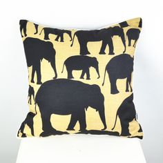 """18"""" * 18 """" Ikea Decorative Elephant Throw Pillow Cover Cushion Cover Pillowcase for Bedding Couch"""