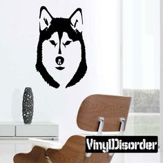 Wolf Wall Decal - Vinyl Decal - Car Decal - DC015