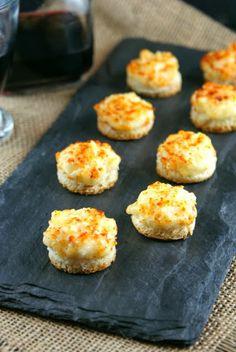 Parmesan Onion Canaps
