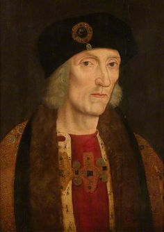 Henry VII (1457–1509) (Rawlinson version) by unknown artist, painted c.1600, oil on panel, from the Collection of the Societies of Antiquaries of London, Burlington House.