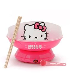 Hello Kitty Cotton Candy Maker - doesn't get much more surgary sweet pink than that.