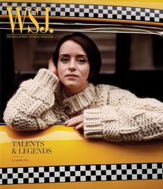 Claire Foy One of Talents + Legends Lensed By Alasdair McLellan For WSJ Magazine February 2019 — Anne of Carversville Daily Fashion, Fashion Photo, Clare Foy, Netflix Series The Crown, Wall Street Journal Magazine, Tapas, Lucas Hedges, Wsj Magazine, Magazine Covers