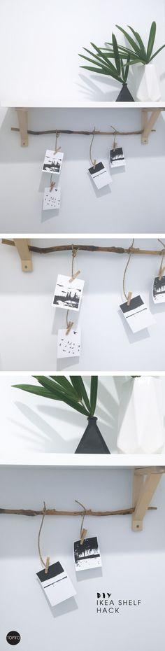 DIY Ikea Shelf Hack | TOMFO