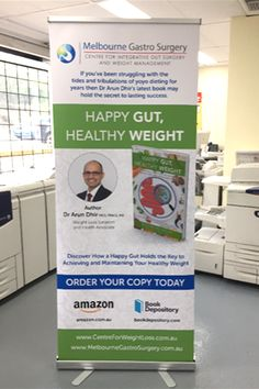 Getting ready for our Book Launch. Thank you Plenty Valley printing for our new banner! Book Launch, Bariatric Surgery, Weight Loss Surgery, Secret To Success, Transform Your Life, Healthy Weight, A Team, Live Life, Feel Good