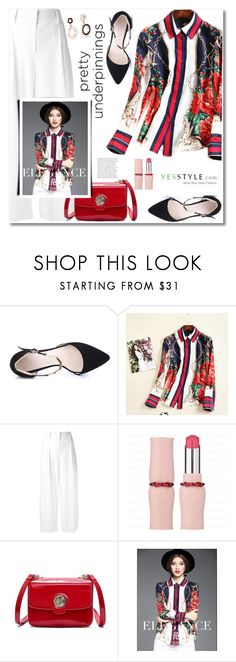 """YesStyle - 10% off coupon"" by svijetlana ❤ liked on Polyvore featuring Diane Von Furstenberg, Summer, yesstyle and prettyunderpinnings"