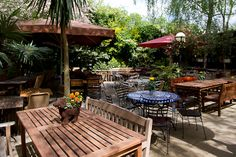 The Garden Gate, pub with Beer Garden, 14 South End Road, NW3 2QE London