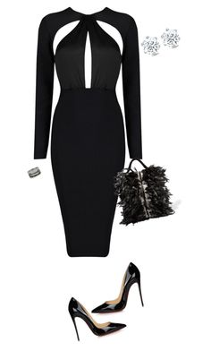 """""""LBD"""" by sistagirll on Polyvore featuring Christian Louboutin, Sanayi 313 and Bernard Delettrez"""
