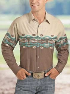 Tribal Shirt, Western Shirts, Button Down Shirt, Men Casual, Shirt Dress, Floral, Clothing, Mens Tops, Products