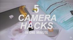 Watch: 5 Genius DIY Camera Hacks, Which Anyone Can Pull Off, In 1 Minute - DesignTAXI.com