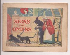 Vintage Pre 1920's Halloween Booklet Signs and Omens Fortune Telling Dreams | eBay