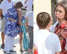 La reina Sofía enamorada de Mallorca #realeza #royalty