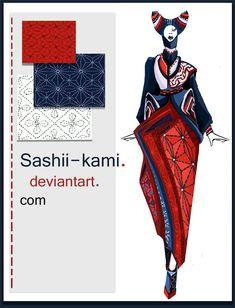 sashiko by Sashiiko-Anti.deviantart.com on @deviantART