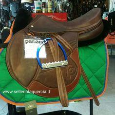 Sella Pariani Jump Off 17,5 marrone Euro 2000 spedizione in tutta Italia