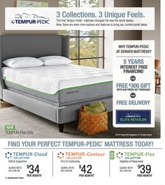 The Green Choice Carefree And Bliss From Denver Mattress Are On Cutting Edge Of Foam Science Pricing Finance Offers Good Through 8 26