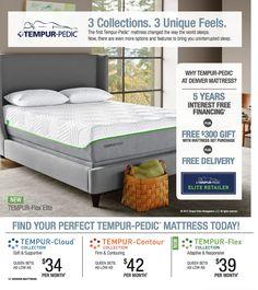 find your perfect tempurpedic at denver mattress sale pricing and finance offers good - Denver Mattress