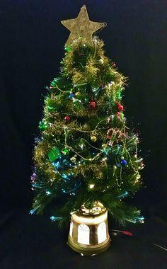 Rotating Fiber Optic Christmas Tree Photo Album - Christmas Tree ...