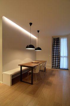 Ispirazione nordica : Sala da pranzo minimalista di ministudio architetti