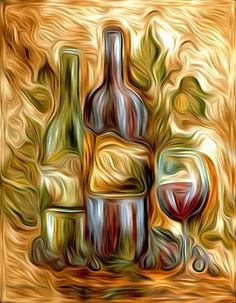 Image result for wine art