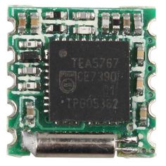 DIY Part for MP3 Player / VCD / DVD / Mobile Phone. Find the cool gadgets at a incredibly low price with worldwide free shipping here. TEA5767 Chip FM Radio Module for Arduino, Raspberry, ARM - Green, Transmitters & Receivers Module, . Tags: #Electrical #Tools #Arduino #SCM #Supplies #Transmitters #Receivers #Module