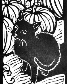 """Just a happy little 4"""" x 6"""" kitty to advertise I am teaching another workshop at ArtFarm in Annapolis on Friday, October 13th from 6-9 pm. Join me! Artists and non-artists welcome! @artfarmannapolis #artfarmannpolis #artinannapolis #artannapolis #annapolismd #annapolisarts #artinmaryland #marylandart #thebmorecreatives"""
