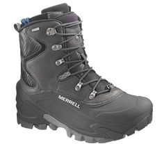 Merrell Norsehund Alpha WP Black -Mens Mens Winter Boots d304548c193