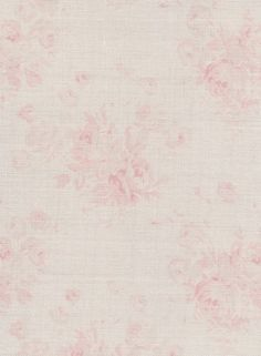 Millie ~ Powder Pinks on Cream Linen or Ivory Linen - Peony & Sage Zoffany Paint, Blush Living Room, Powder Pink, Grey Walls, Little Girl Rooms, Curtain Fabric, Floral Fabric, Soft Furnishings, Vintage Fabrics
