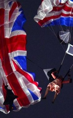 OUR QUEEN DROPPING INTO THE LONDON OLYMPICS. GOD LOVE HER.