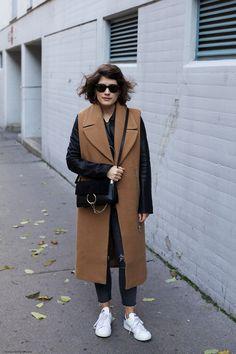 Caramel Layers & Chloe Bag | More on Grey Knits | More on www.viennawedekind.com #chloegirls